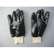 Neoprene Fully Coated White Knit Wrist Work Glove (5340)