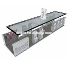 Detian offer trade show booth modular shelf display exhibition design