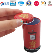 Round Shaped Metal Tin Kid Toy for Kid Gift
