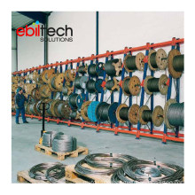 Warehouse Shelf Steel Racks for Cable Drum Rack with Heavy Load