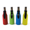 Insulated beer bottle holder zipper for party