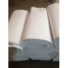 100% algodón a tela de raya del satén blanco 0.5cm - 3cm