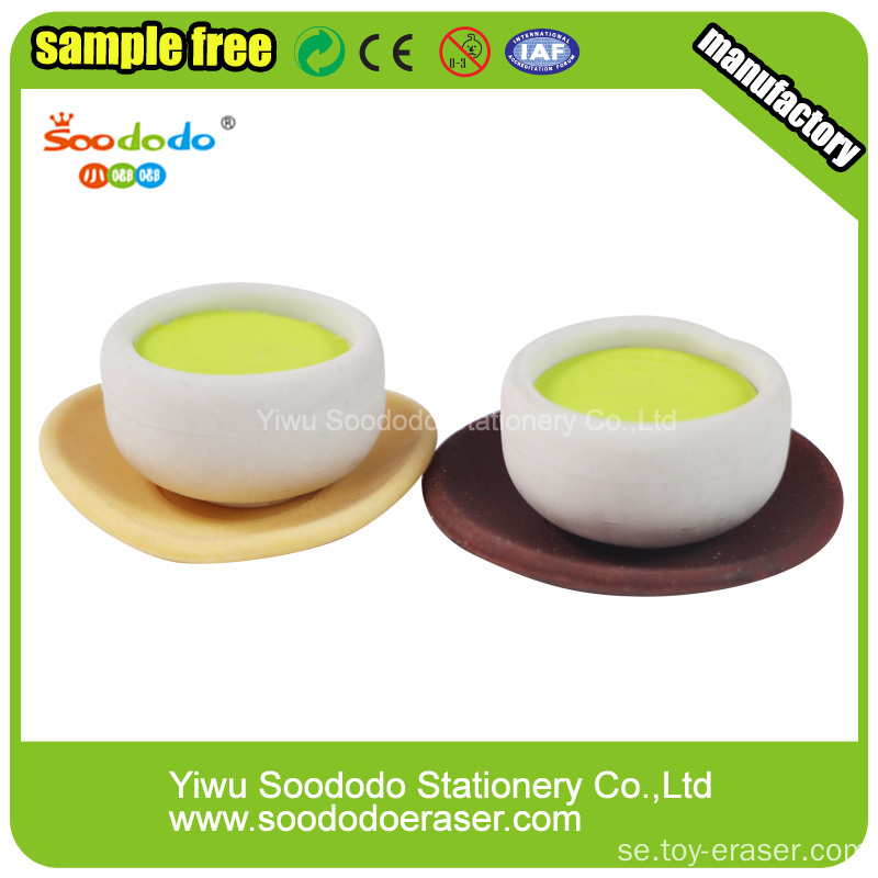 Poached Egg  Eraser, food eraser collection