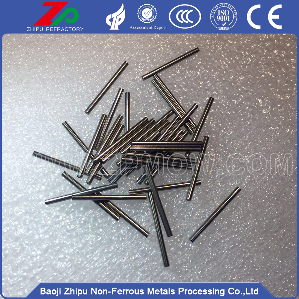 Polished molybdenum electrode / rod