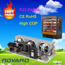 R22 r404a конденсатор охлаждения компрессора для настоящих коммерческих холодильников холодильные агрегаты для грузовых автомобилей