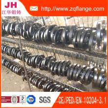 Brida del codo del acero de carbono de la instalación de tuberías