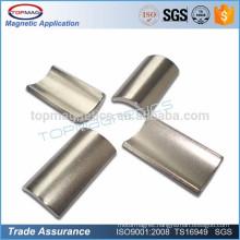 N35 magnet bar Nickel Plated neodymium magnet motor