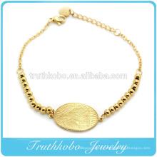 2016 En Gros D'or Avec Des Perles Vierge Marie Charme Allonger Bracelet Religieux Perle Or Bracelet Catholique