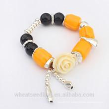 Cheap Gold Topaz Flower Women Ladies Bracelet 2015 New Products