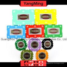 Ensemble de chips de poker Crown Clay (760PCS) Ym-Sghg001