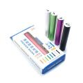 Aluminiumlegierung USB 2200mAh externe Batterie LED-Fackel-Licht-bewegliche Energien-Bank