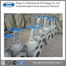 GOST carbono aço haste válvula de portão tubo encaixe campo de petróleo