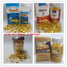 Best Quality Omega 3 Deep Sea Softgel Capsule Fish Oil