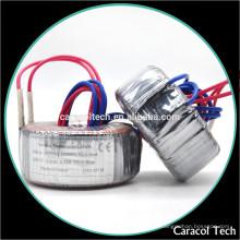 Entrada 240v - 50 0 50v Transformador toroidal secundaria 600va con alta calidad y el mejor precio