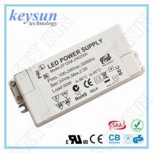 Driver de LED de tensão constante de 12W AC-DC de 12V com aprovação CE, UL, CUL