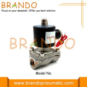 2S040-10 SUS-10 3/8 `` Katup Solenoid Air Stainless Steel