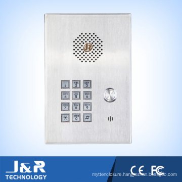 Wall Mounted Phone Vandal Resistant Intercom for Elevator and Community