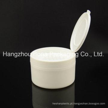 Pó fraco liso redondo plástico cosmético dos PP do recipiente 4oz