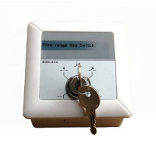 Five key function key switch for automatic door M232