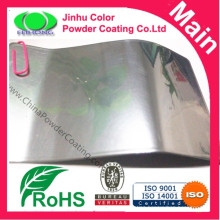 Decorative chrome silver powder coating to spray metal surface good quality