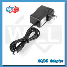 AC de alta calidad AC 6W 12v 0.5a ac / dc adaptador de corriente con enchufe de EE.UU.