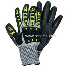 TPR Impact Handschuh Anti Cut Resistant Handschuhe Mechanix Arbeitshandschuh