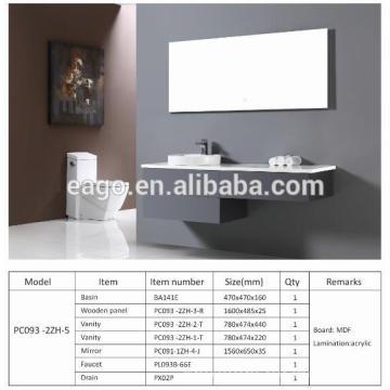 EAGO Modern Bathroom Cabinet PC093-2ZH-5