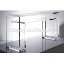 Clear acrylic coffee table and living room table in U shape