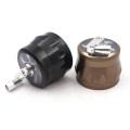 Дымоглушитель 63 мм супер хорошее качество четырехслойный алюминиевый металлический шлифовальный станок с ручным приводом курительные принадлежности