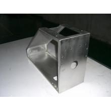 Präzise CNC-Bearbeitung Perforiertes Stanzen Polieren Teil