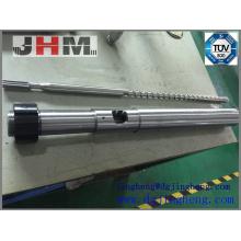 Único bimetal parafuso de injeção barril para máquinas de plástico