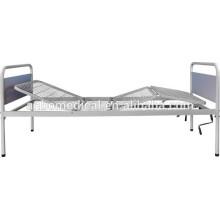 Revestimiento de energía epoxi con acero weldmesh cama cama de hospital bordo