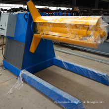 China manufacturers suppliers price hydraulic steel plate uncoiler machine