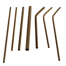 Stainless steel straw with different sizes
