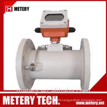 Hot water flow faucet meter with model