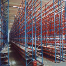 Heavy duty storage VNA pallet rack