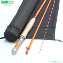 Gelb Yr764-3 Qualität Made Moderate Classic Fiberglas Fliegen Rod