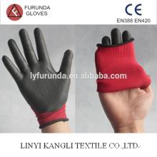 Luva de nylon revestida com nitrilo na palma