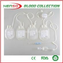 Henso Quadruple Blood Collection Bag
