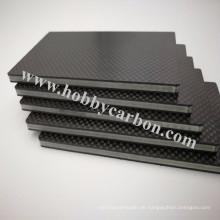 3k Plain Matte Schaumkohlenstoff-Faser-Blatt