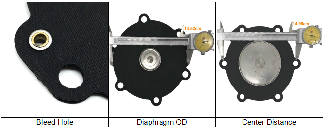 M50 Diaphragm For Turbo FP55 FM55 Pulse Jet Valve