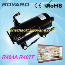 R407F R404A ce rohs lanhai boyard horizontal réfrigérateur compresseur frigorifique remplacer le compresseur de réfrigérateur samsung