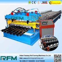 FX elektrische Metalldach glasierte Fliesenwalzenformmaschine