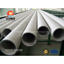 Tubo de acero inoxidable dúplex S31803 ASME SA790