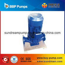 Vertikales Pipeline-Modell: Klarwasser-Zentrifugalpumpe