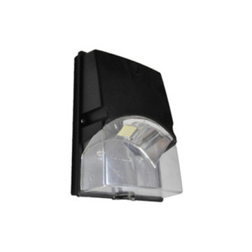 Black Morden Down LED, lámpara de pared para exteriores