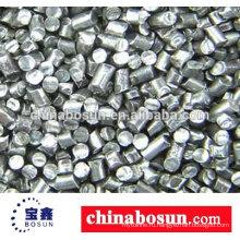 Алюминиевый выстрел используемые для машинного оборудования взрывать алюминиевый слиток