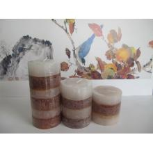 Bestseller Scenic Style Layered Pillar Candle