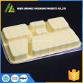 bac à aliments robuste à 6 compartiments