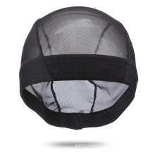 Transparent Black Mesh Dome Cap For Making Wigs